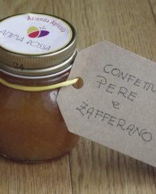 alt=confettura pera e zafferano